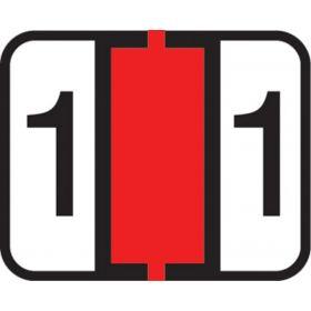 End Tab Numeric Filing Label - 1