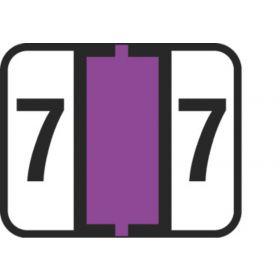 End Tab Numeric Filing Label - 7
