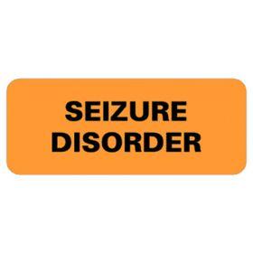 Chart Label  Seizure Disorder