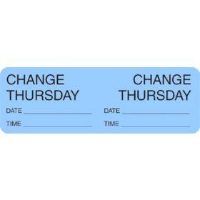 Label - Change Day - Thursday
