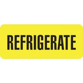 Medication Label - Refrigerate