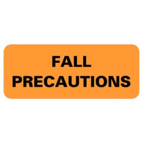 Chart Label  Fall Precautions L 2183