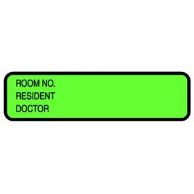 Chart ID Labels - Roll - Resident L-3511NH