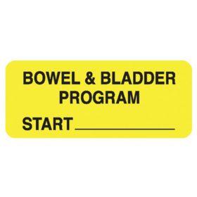 Chart Label  Bowel And Bladder Program