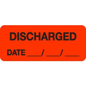 Chart Label  Discharged Date