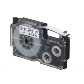 Chart Label l Printer Cartridge  9MM  Black on Clear