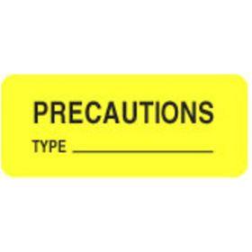 Chart Label - Precautions Type