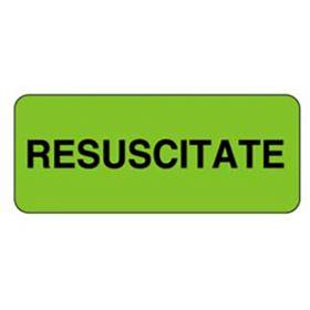 Chart Label  Code Status  Resuscitate