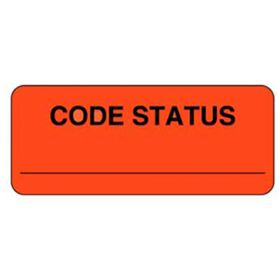 Chart Label  Code Status