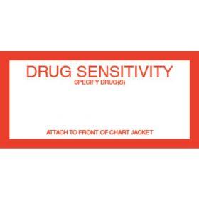 Chart Label - Drug Sensitivity