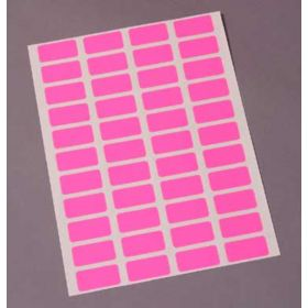 Charge Labels  Resource System Compatible  Laser  4 Across  Pink