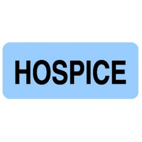 Chart Label  Hospice