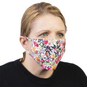 Celeste Stein Ear Loop Mask-Raspberry Hill
