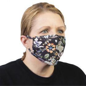 Celeste Stein Ear Loop Mask-Black Prairie Floral