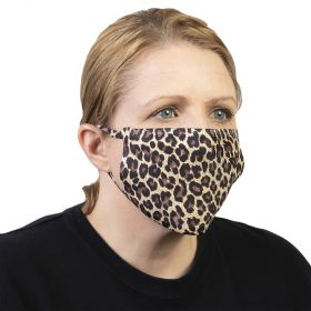 Celeste Stein Ear Loop Mask-Hairy Leopard