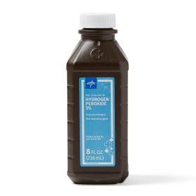 Hydrogen Peroxide 3%, 8 oz.
