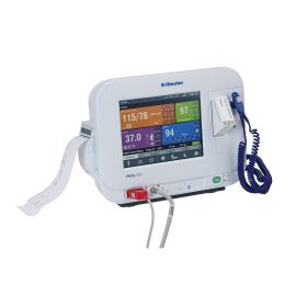 RVS-100 Vital Signs Monitor with NIBP, SpO2, Thermometer, and Printer