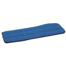"""Polypro Microfiber Wet Mop, Blue, 18"""""""