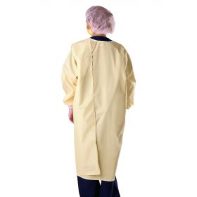 3-Armhole Isolation Gown with RFID, Size 3XL, Yellow