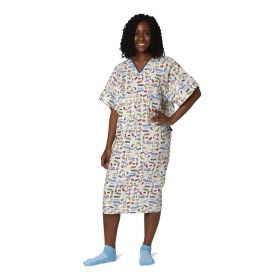 PolyBright IV Patient Gowns  MDTPG6IVPOP