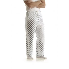 Color-Coded Pajama Pants, Snowflake Blue, Size XL