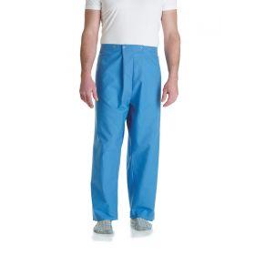 Pajama Pants, 4-Snap, Size 2XL, Light Blue