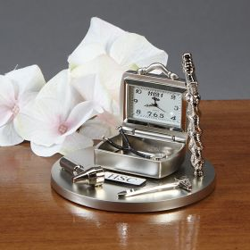 Doctors Desk Clock, Personalized