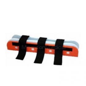 """Corrugated Plastic Folding Splint, Full Foam, 18"""""""