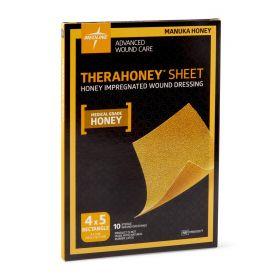"""TheraHoney Honey Wound Dressing Sheet, 4"""" x 5"""""""