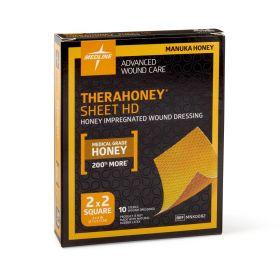 "TheraHoney HD Honey Wound Dressings, 2"" x 2"" Sheet"