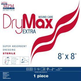 "DryMax Extra Absorbent Dressing, 8"" x 8"""