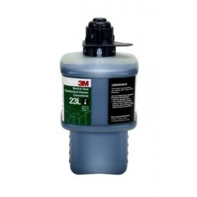 Neutral Quat Disinfectant Cleaner Concentrate 23L with Gray Cap, 2 L
