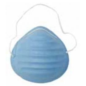 Comfort-Cone Surgical Mask, Blue