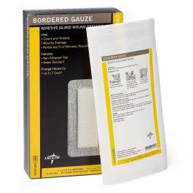 Bordered Gauze Adhesive Island Wound Dressing MSC3236Z