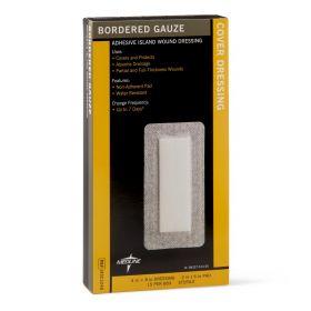 Bordered Gauze Adhesive Island Wound Dressing MSC3248Z