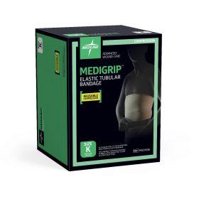 """MEDIGRIP Elasticated Tubular Support Bandage, Size K: 8-1/4""""W (21 cm)"""