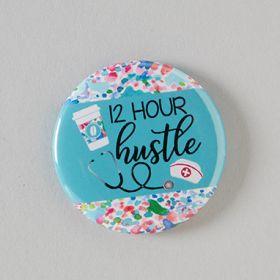 Hustle Badge Reel Cover
