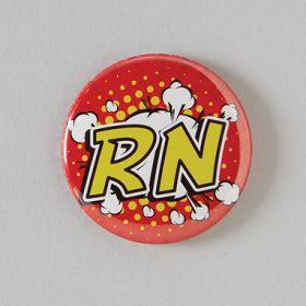 RN Badge Reel Cover