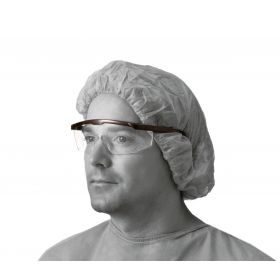 Clear Safety Glasses with Black Frame NON24774H