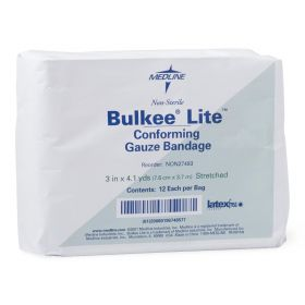 Bulkee Lite Nonsterile Cotton Conforming Bandages NON27493
