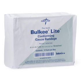 Bulkee Lite Nonsterile Cotton Conforming Bandages NON27494H