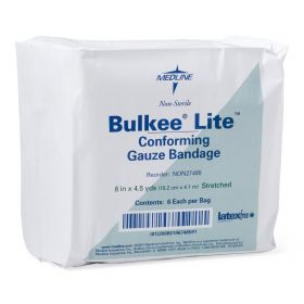 Bulkee Lite Nonsterile Cotton Conforming Bandages NON27495