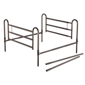 Essential Medical P1460 Powder Coated Home Bed Rails with Extender