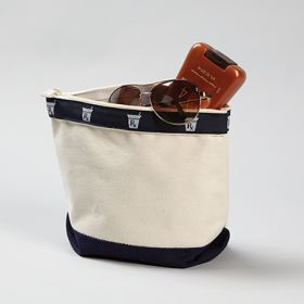 Rx Canvas Zippered Pouch