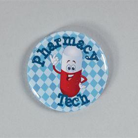 Pharmacy Tech Badge Reel Cover