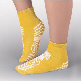 Risk Management Double-Imprint Terry Slipper Socks PBE3912001