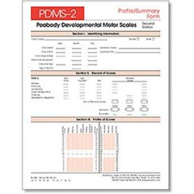 PDMS-2 Profile/Summary Forms (25)