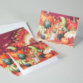 Bountiful Harvest Mortar and Pestle Note Cards