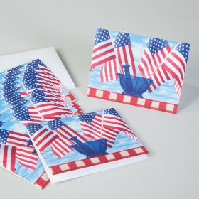 Patriotic Mortar and Pestle Note Cards