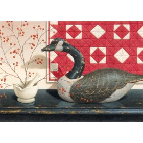 Goose Quilt Print Only